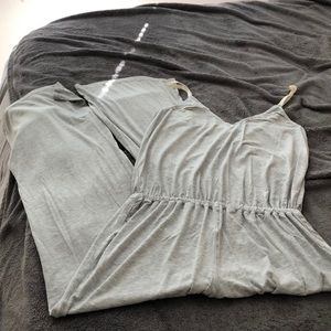 Soft Gray jumpsuit